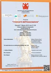 Terzo concerto locandina